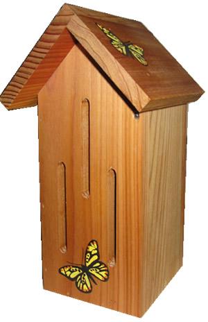 Natural Cedar Butterfly House