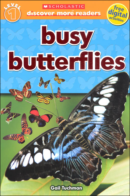 """""""BUSY BUTTERFLIES"""" LIFE CYCLE BOOK"""