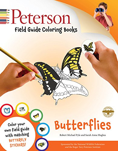 Field Guide Coloring Book: Butterflies